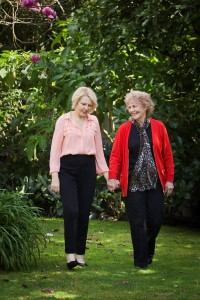 Donna and her mum, Stella. Photo Courtesy of NZ Herald